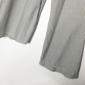 Anthropologie Tops - Cloth & Stone | Pinstripe Rayon Button Up (E103)